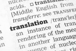 Meaning of professional translation services